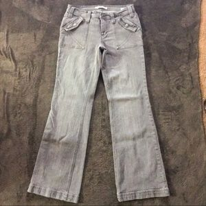 ‼️3 for $15‼️ Tommy Hilfiger Gray Stretch Jeans